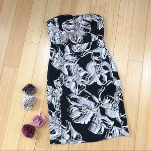 BANANA REPUBLIC strapless dress, 2P.